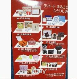 Re-Ment Miniature Department store Shopping Full set of 9 with 1 different color