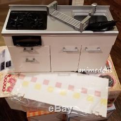 Re-Ment Miniature Petite Puchi Housing Lot Kitchen Appliance Cabinet Fridge Sink