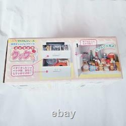 Re-ment Miniature Dollhouse White Kitchen Cabinet with Stove and Sink 2005 Rare