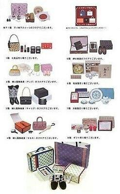 Re-ment Miniature Shopping at Department Store Dollhouse Full Set Discontinued