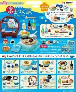 Re-ment Mt. FUJI Room Petit sample series Miniature Figure Full set All 8 types