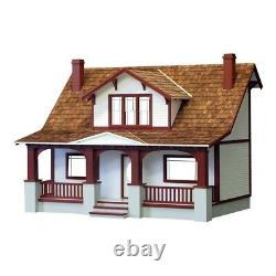 Real Good Toys Classic Bungalow Dollhouse Kit