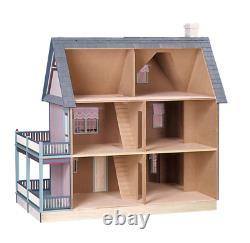 RealGood Toys Victoria's Farmhouse Dollhouse Kit