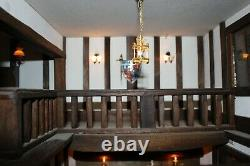 Robert Stubbs Tudor 8 room Dolls House