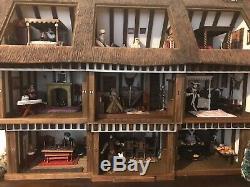 Robert Stubbs Tudor dolls house with certificate