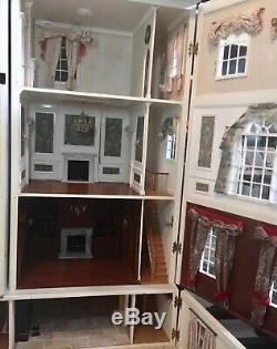 Serious Collectors Craftsman Built Georgian Luxury Dolls House Amazing Look