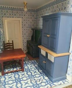 Sid Cooke Empire Stores Dolls House Shop + Furniture 3 Storey 1/12 12th Scale