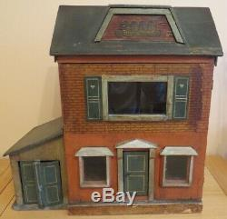 Small Antique German Theodore Heymann Dolls House c1910