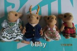 Sylvanian Families British Calico Critters- Reindeer MOSS family Vintage