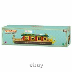 Sylvanian Families CANAL BOAT Calico Critters 2021 Epoch Japan