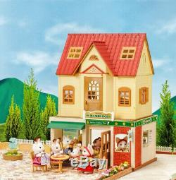 Sylvanian Families Calico Critters Hamburger Restaurant