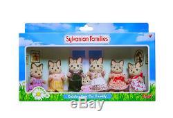 Sylvanian Families Calico Critters Macavity Cat Celebration Family
