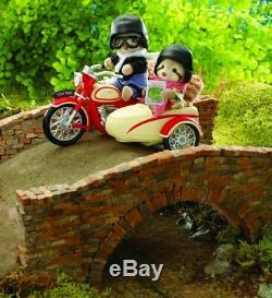 Sylvanian Families Calico Critters Motorcycle and Sidecar