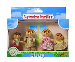 Sylvanian Families Calico Critters Spotter Meerkat Family