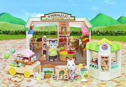Sylvanian Families Calico Critters Supermarket Deluxe Gift Set