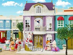 Sylvanian Families Calico Critters Town Series Elegant Town Manor Deluxe Set