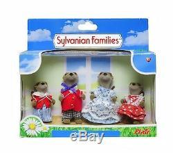 Sylvanian Families Calico Critters Vandyke Otter Family