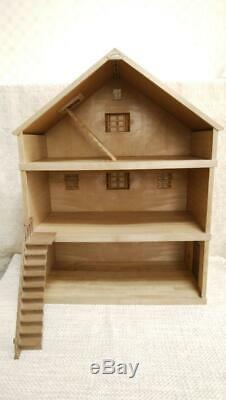 Sylvanian Families Calico Critters Vintage Forest Big House & Room Unit Rare