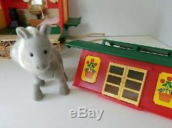 Sylvanian Families Caravan Roulotte Tomy 1989 Calico Critters with Accessories Box
