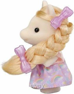 Sylvanian Families Fashionable Styling Beauty Hair Salon +Pony set EPOCH