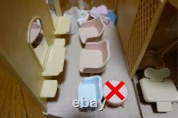 Sylvanian Families Forest Beauty Salon Doll Miniature House Animal Toy Japan