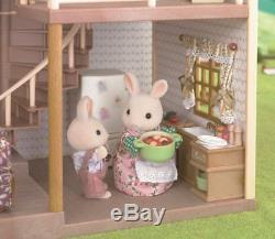 Sylvanian Families GREEN HILL HOUSE Epoch HA-35 Calico Critters From Japan
