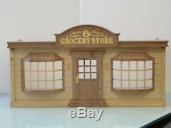 Sylvanian Families GROCERY SHOP Epoch Japan HA-17 Retired Rare Calico Critters