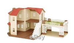 Sylvanian Families LARGE HOUSE WITH CARPORT Epoch Calico Critters
