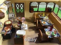 Sylvanian Families Rare Jp Sylvanian Kitchen Restaurant, Boxed