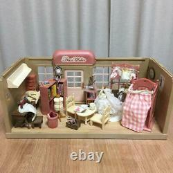 Sylvanian Families Rare Vintage Forest Tailor Doll House Miniature Used