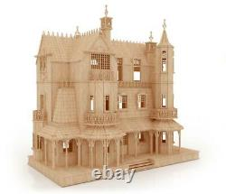The Gothic Mansion Easy-to-Assemble Doll House