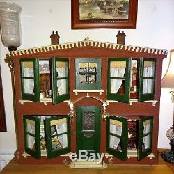 The Homestead A charming & unusual Vintage Dolls House circa. 1904
