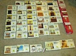 The House Of Miniatures X-ACTO New Sealed Lot Of 37 Doll House Furniture Plus