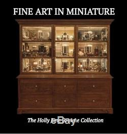 The Ultimate Coffee Table Miniature Book Fine Art In Miniature by Holly Browne
