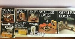 Tomy Smaller Home and Garden Dollhouse & Living Kitchen Bedroom Bathroom Sets