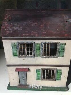 Triang Elfin dolls house, 1930s original, some furniture/accessories