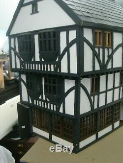 Tudor Dolls House In Need Of A Little Restoration