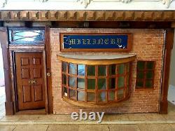 UNIQUE Large Tudor Style Market Square Shop, Tearoom & Town House DOLLS HOUSE