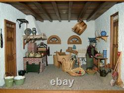 Unique one of a kind artist dollhouse 112
