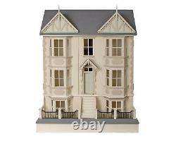 Victorian Dolls House & Basement Kit Cedars 112 Scale Unpainted Flat Pack