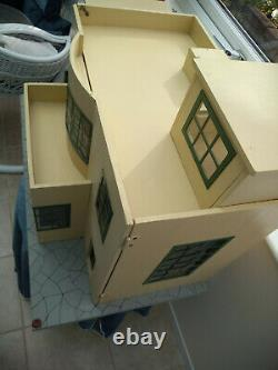 Vintage 1930s Tri-ang No52 Flat Roof Art Deco Dolls House COLLECTION ONLY