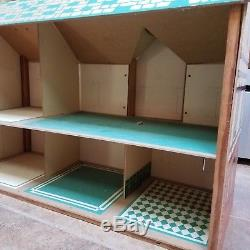 Vintage 1940s Rich Toys Dollhouse Doll House RARE FIND