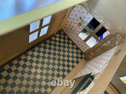 Vintage Antique Tootsie Toy Dollhouse Doll House No. 12 Cardboard 1927