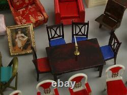 Vintage Ideal & Renwal Dollhouse Petite Princess Furniture Mega Lot 60+ Items