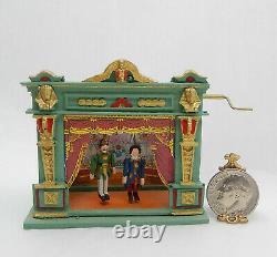 Vintage Kummerows Puppet Theater Artisan Dollhouse Miniature 112
