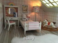 Vintage Lundby Stockholm dolls house beautifully renovated & working electrics