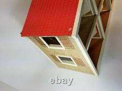 Vintage Lundby Sweden Gothenburg Mid 1970's 3 Split Level Doll House