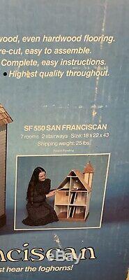 Vintage Nib Dura Craft San Franciscan #sf550 Minature Doll House Kit Nib
