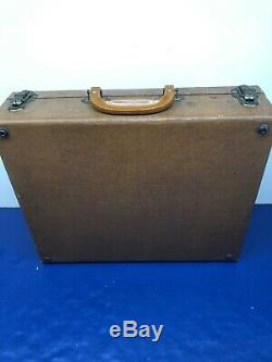 Vintage Salesman Suitcase Miniature Furniture Youngstown Kitchens Mullins