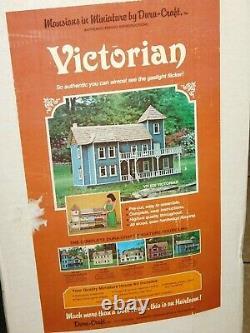Vintage Sealed Dura Craft Victorian Vh600 Doll House Kit